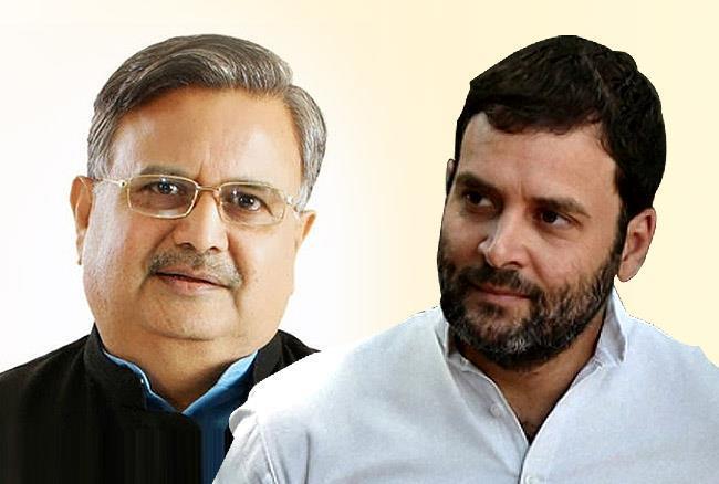 Rahul Gandhi-Raman Singh